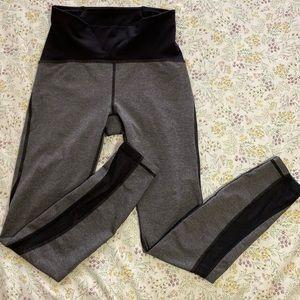 Lululemon black and gray leggings